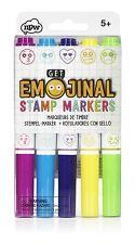 Ottieni emojinal Emoji TIMBRO Marcatori Faccina Sorridente Stamper Insegnante Ricompensa-Pack 5