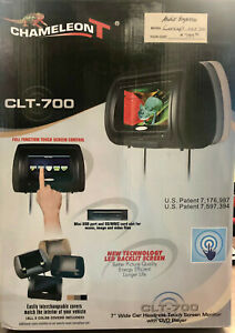 Car Headrest Touch Screen Monitor with DVD Player - CLT-700
