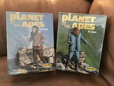 Vintage AURORA Planet of the Apes, Cornelius, Dr. Zaius Model Kits LOT NIB.