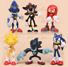 6pcs Sonic The Hedgehog Kids Toy PVC  Action Figure Set Christmas Gift  Collecto