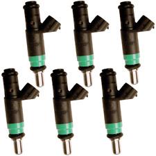OEM Siemens Fuel Injectors Set (6) 06C133551 Rebuilt by Master ASE Mechanic USA
