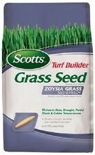 Scotts 18362 Turf Builder Heat & Drought Tolerant Zoysia Grass Seed & Mulch