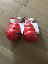 2 Kong Dog Rubber Chew Toys - Red (large)
