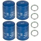 NEW 2011-2020 Subaru Pack 4 Engine Oil Filter and Gasket Impreza OEM 15208AA15A