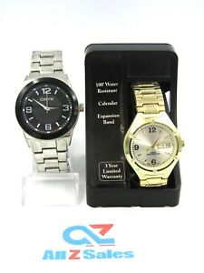 2X Men / Boy Watch Analog Dial, One With Packaging (Both need battery)