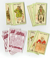 Card Collectors Society Full Repro Set of 25 Players - Characters From Dickens
