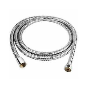 Inossidabile STEEL1.5M Cromato Flessibile Bagno Doccia Testa Tubo Lavatrici