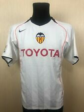 VALENCIA 2004/2005 HOME FOOTBALL SOCCER JERSEY SHIRT NIKE ADULT SIZE M