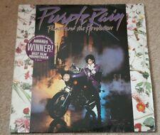 PURPLE RAIN SOUNDTRACK VINYL LP - PRINCE & THE REVOLUTION 1984 WARNER 925 110-1