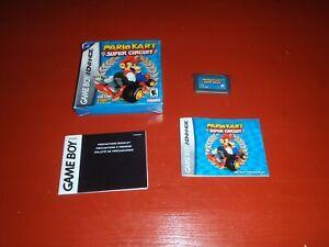 Mario Kart Super Circuit (Nintendo Game Boy Advance, 2001) -No Insert