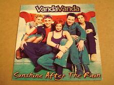 CD - SINGLE / VANDA VANDA - SUNSHINE AFTER THE RAIN