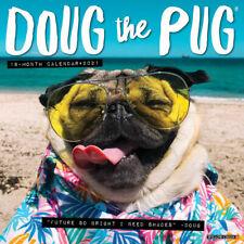 Doug the Pug (dog breed calendar) 2021 Wall Calendar (Free Shipping)