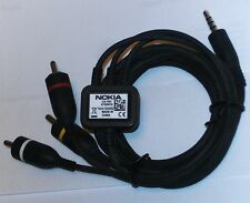 Nokia Tv Cable De Video Ca 75u 6720 E6 E7 N79 N82 N85 N86 N95 N96 funciona en Iphones
