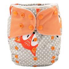 1 Baby Cloth Diaper Nappy Pocket Reusable Washable Microfleece Fox