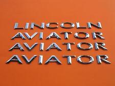 2005 LINCOLN AVIATOR REAR LID GATE SIDE DOOR EMBLEM LOGO BADGE SIGN SET 03 04 05