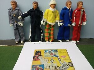 Evel Knievel Super Rare 1974 Montgomery Ward outfits