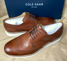 BARELY tried on COLE HAAN Mens Size 9.5 Grand Showing Brown Shoes Woodbury