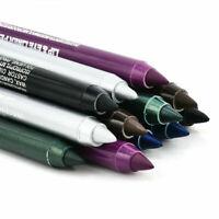 2x Waterproof Long lasting Eye Liner Pencil Pigment 6 Colours Eyeliner Makeup
