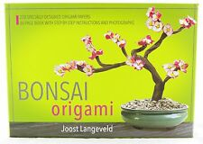 Bonsai Origami Craft Activity Kit and Book NEW nature asian oriental paper art