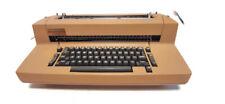 Vintage Ibm Correcting Selectric Ii Electric Typewriter Brown For Parts Repair