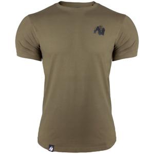Gorilla Wear Gym T Shirt Detroit Gym Muscle MMA Bodybuilding Top 3XL RRP £29.00