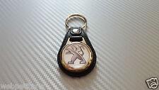 Porte clés cuir  (NON Caddie ) PEUGEOT 106 107 206 207 208 306 308 3008 406 RCZ
