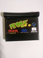 FROGZ 64 Atari Jaguar BLACK CART ONLY DEAL