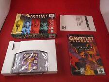 Gauntlet Legends Nintendo 64 N64 Near Complete Box Variant (No figure) game