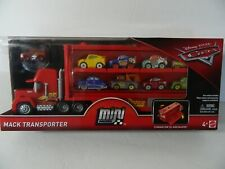 Disney Pixar Cars Mini Racers Mack Transporter Includes Lightning McQueen Mini