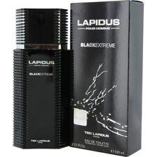 Lapidus Pour Homme Black Extreme by Ted Lapidus 3.33 oz EDT Cologne for Men NIB