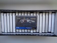 ** 20 Cassette Audio TDK SA 100 Chrome K7 Super Etat **