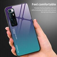 For Xiaomi Mi 10 Ultra 10T Pro 10T Lite 5G Gradient Tempered Glass Case Cover