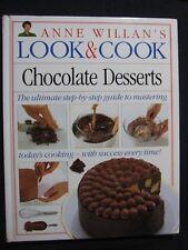 Chocolate Desserts (Anne Willan's Look and Cook) [Mar 15, 1992] Willan, Anne