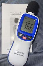 Colemeter Sound Level Meter Portable Digital Decibel Meter Audio Noise
