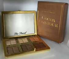 Too Faced Cocoa Contour -Cocoa Infused Contour & Highlighting Palette New In Box