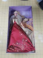 Mattel Glamorous Gala Barbie Doll Blonde Red and Gold Dress B2722