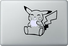 Apple MacBook Air Pro + Pikachu + Pegatina Sticker decal skin + lngenioso Sweet