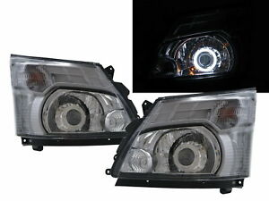 300 Series MK2 11-present Truck 2D CCFL Projector Headlight Chrome for HINO RHD