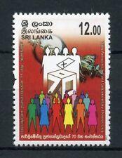 Sri Lanka 2017 MNH Parliamentary Democracy Elections 1v Set Politics Stamps