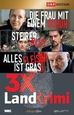 3 x LANDKRIMI, Box 1 (Nina Proll, Tobias Moretti, Wolfgang Böck) 3 DVDs NEU+OVP
