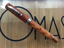 OMAS GRAN PARAGON WOOD  ITALY WINE 2001 ROLLER BALL BOXED * NEW FROM FACTORY *