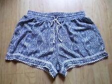 Juniors About a Girl Size M Casual Shorts Geometric Print Boho Festival