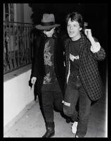 Lot of (9) 1980s NANCY MCKEON, MICHAEL J FOX & CILIA WESTON Original Photos