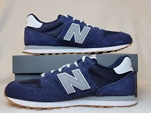 New Balance 500 Gum Suede Running Shoes Mens Size 10.5. Navy Blue GM500ST