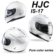 HELMET CASQUE CASCO HJC  IS 17 IS17  BIANCO PERLA RYAN  PEARL WHITE  TG L