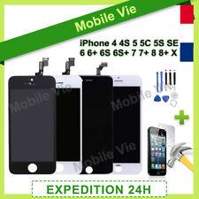 ECRAN IPHONE 4/5/5C/5SE/6/6S+/7/7+/8/8+/X VITRE TACTILE+LCD RETINA SUR CHASSIS