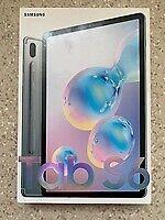 Samsung Galaxy Tab S6 256 GB, WLAN + 4G 10,5 Zoll - Mountain Grey - Nagelneu