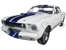1965 Ford Mustang Shelby Gt350R W/Signature 1/18 Car Shelby Collectibles Sc168-1