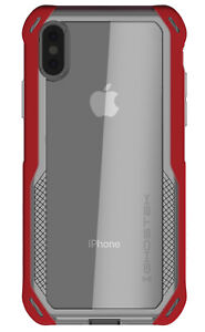 For Apple iPhone X XR XS Max Case | Ghostek CLOAK Clear Shockproof Hybrid Cover