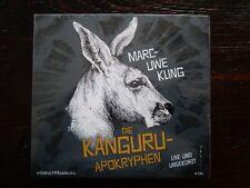"""Marc-Uwe Kling """"DIE KÄNGURU-APOKRYPHEN"""",4 CDs,live und ungekürzt,OVP,ohne Porto"""
